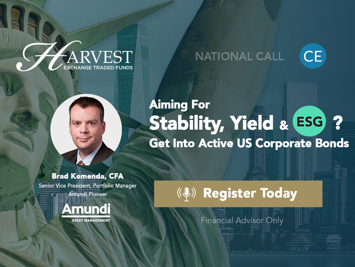 Aiming For Stability, Yield & ESG? Get Into Active US Corporate Bonds